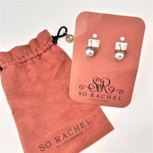 Acorn fall earrings by So Rachel Longaberger